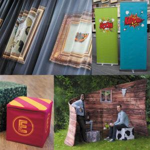 Fabric print products - Ozmedia UK