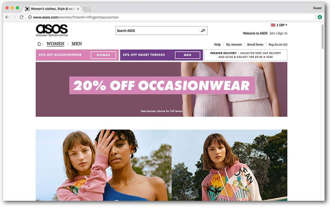 Asos - Ozmedia UK