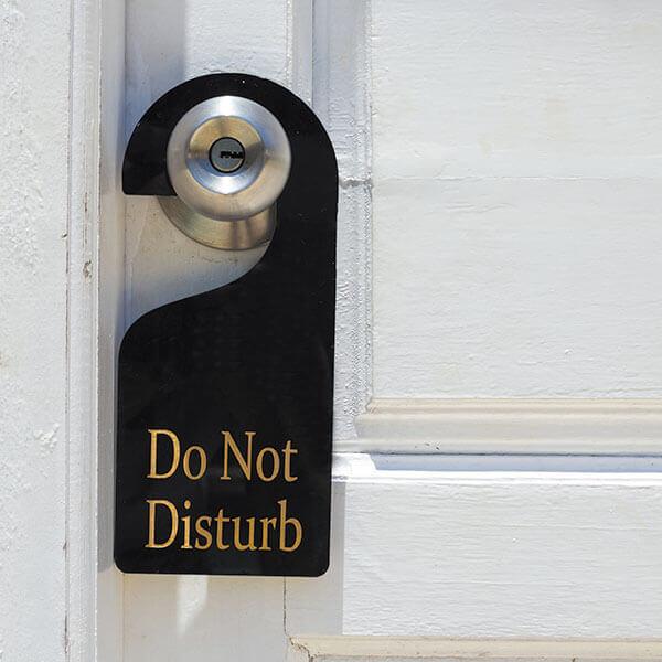 Do not disturb business - Ozmedia UK